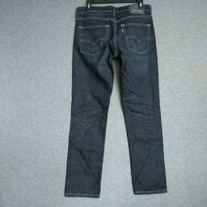 Levi's 511 Skinny Leg Mens Jeans 31 x 29 Dark Wash